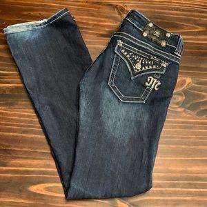 Miss Me Jeans, Bootcut, Size 28, EUC